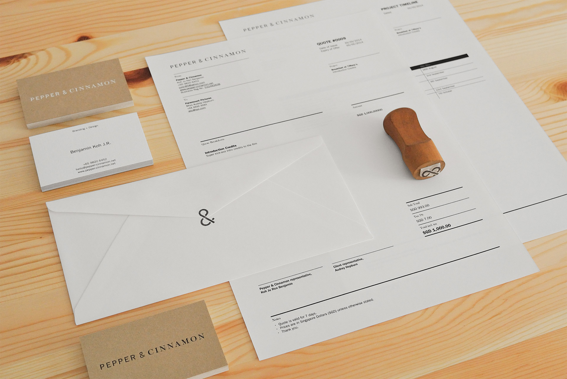 05 Stationery Overview
