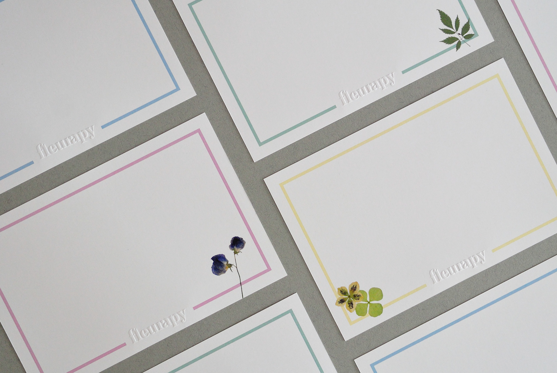 Fleurapy Stationery – 4R Note Cards